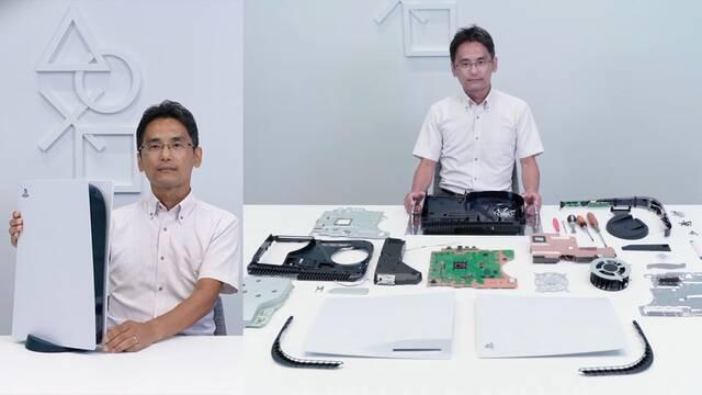 PS5 SSD interior firmware en verano