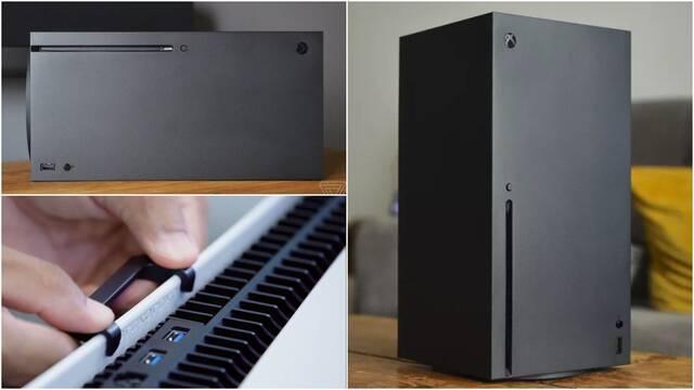 Diferencias entre el cambio de posición de Xbox Series X y PS5.