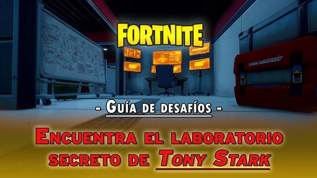 Fortnite: Descubre el laboratorio de Tony en la casa del lago - SOLUCIÓN