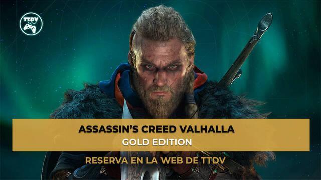 TTDV abre las reservas de Assassin's Creed Valhalla.