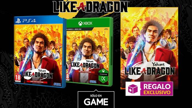 Yakuza: Like a Dragon ya disponible para reservar en GAME.