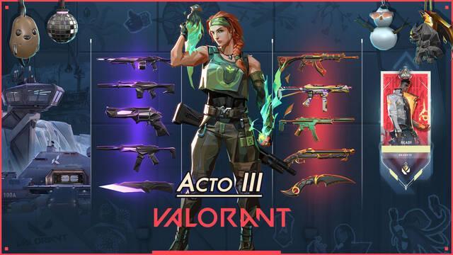 Valorant presenta las novedades del Acto III, disponible el 14 de octubre