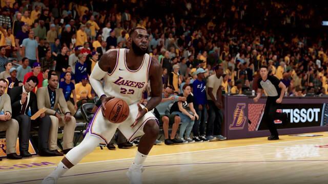 Mejoras de la jugabilidad de NBA 2K21 en PS5 y Xbox Series X