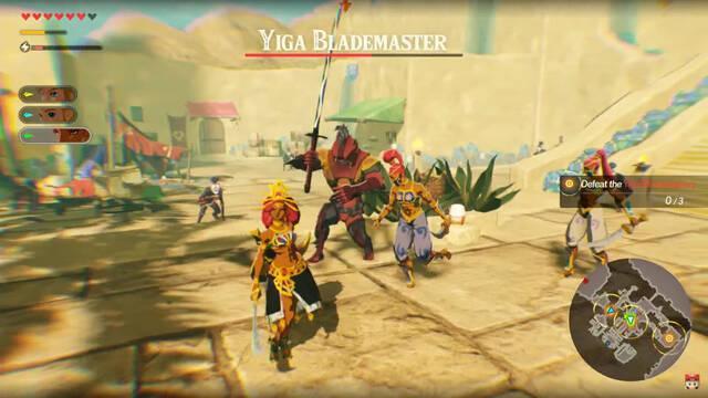 Hyrule Warriors: La era del cataclismo Urbosa Gameplay
