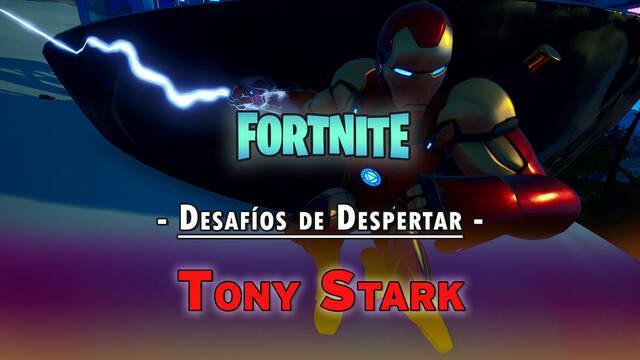 Desafíos de Despertar de Tony Stark en Fortnite: solución y recompensas