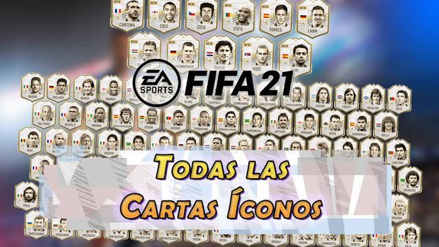Íconos FUT en FIFA 21: TODAS las cartas nuevas y lista completa de íconos