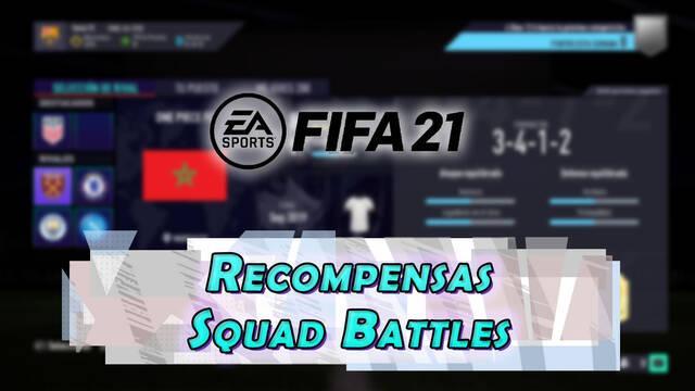 FIFA 21: Recompensas de Squad Battles y cuándo se consiguen