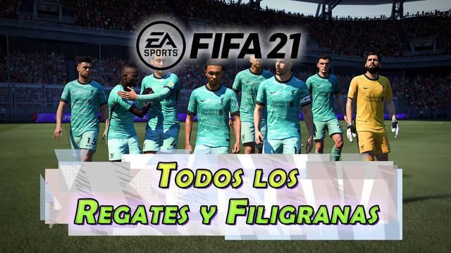 FIFA 21: Cómo hacer TODOS los regates y filigranas (nuevos y secretos...)