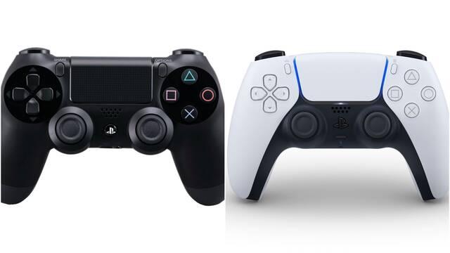 Mandos de PS4 compatibles con PS5