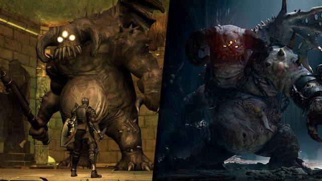 Demon's Souls Remake PS5 comparado con PS3