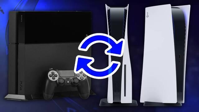 Cómo actualizar juegos de PS4 en PS5.