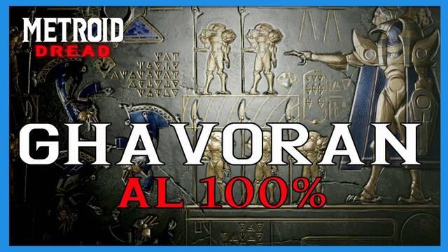 Ghavoran en Metroid Dread y cómo completarla al 100%
