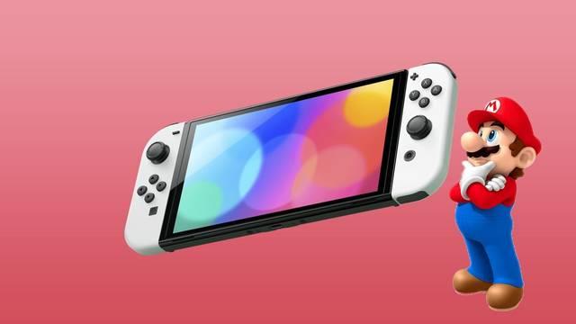 Nintendo Switch OLED y su película protectora