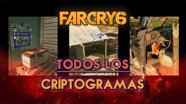 Far Cry 6: TODOS los cofres y tablas de criptogramas y cómo conseguirlos
