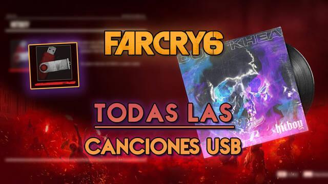 Far Cry 6: TODAS las canciones USB y cómo conseguirlas - Localización
