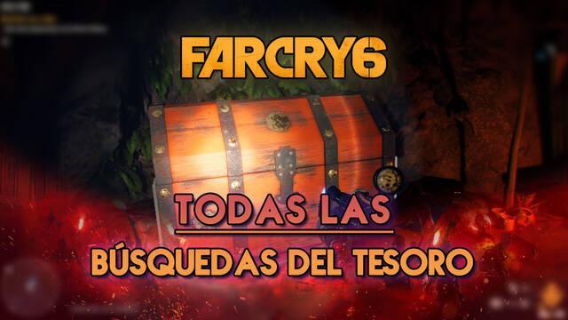 Far Cry 6: TODAS las búsquedas del tesoro y cómo completarlas al 100%