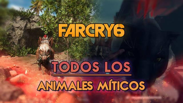 Far Cry 6: TODOS los animales míticos y cómo cazarlos - Localización