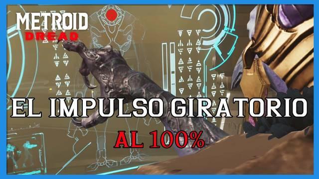 El Impulso giratorio en Metroid Dread y cómo completarlo al 100%