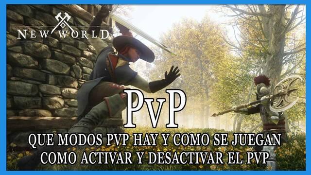 PvP en New World: cómo activarlo y modos de juego