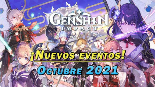 Genshin Impact: Nuevos eventos y gachapón de octubre 2021