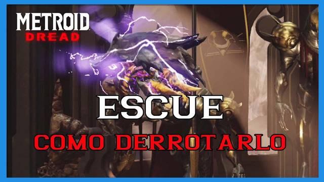 Metroid Dread: cómo derrotar a Escue