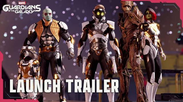 Guardians of the Galaxy tráiler de lanzamiento