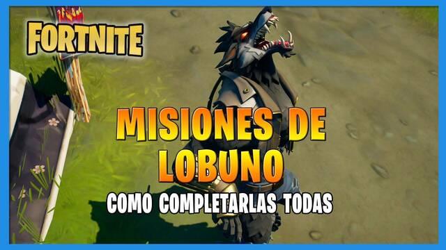 Fortnite T8: TODAS las misiones de Lobuno y cómo completarlas