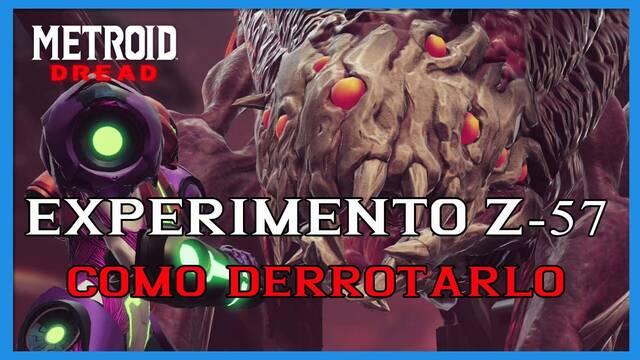 Metroid Dread: cómo derrotar al Experimento Z-57