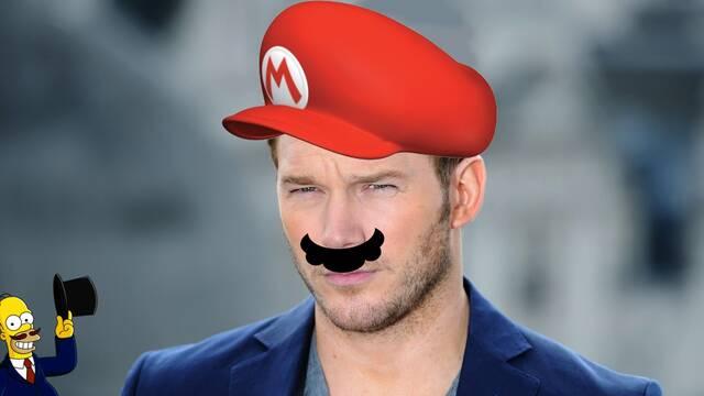 Chris Pratt y sus cosas de Mario