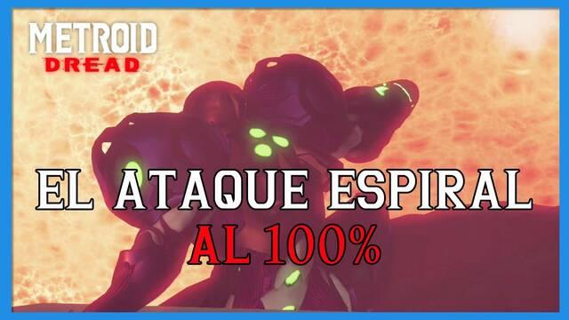El Ataque espiral en Metroid Dread y cómo completarlo al 100%