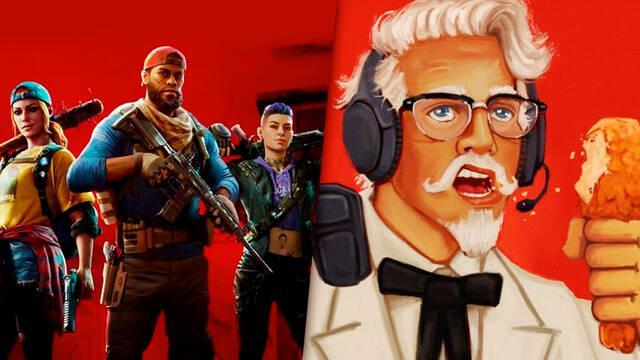KFC Gaming y Back 4 Blood enfrentados en Twitter