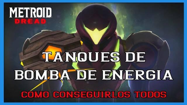 Metroid Dread: TODOS los tanques de bomba de energía y cómo conseguirlos