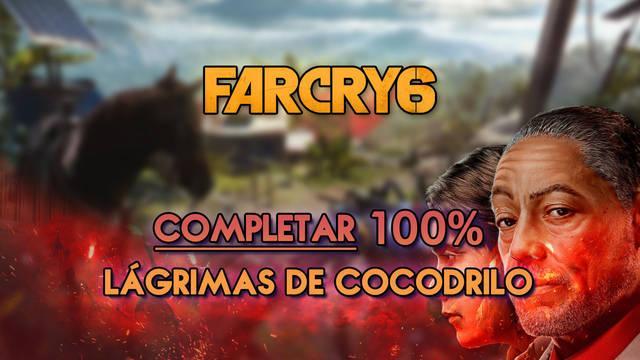 Lágrimas de cocodrilo al 100% en Far Cry 6