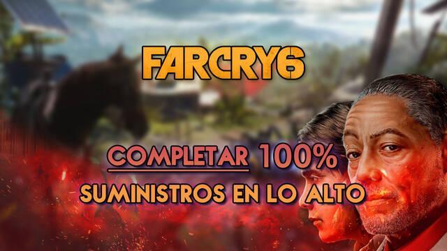 Suministros en lo alto al 100% en Far Cry 6