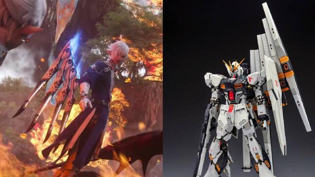 Final Fantasy 14 Endwalker Sage Gundam
