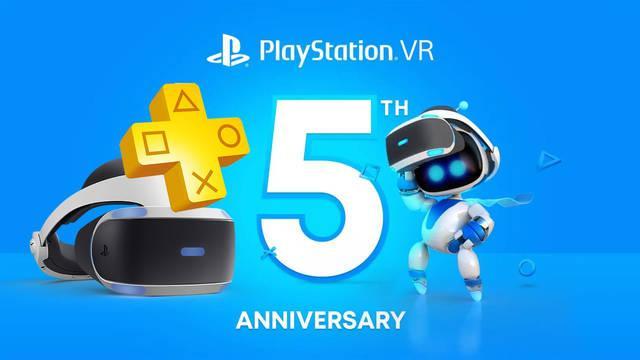 Sony celebra el quinto aniversario de PS VR.