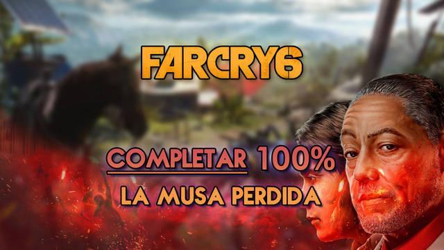 La musa perdida al 100% en Far Cry 6