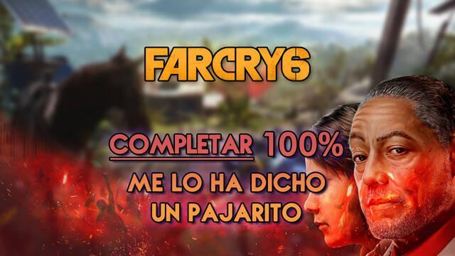 Me lo ha dicho un pajarito al 100% en Far Cry 6
