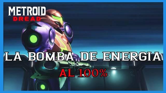 La Bomba de energía en Metroid Dread y cómo completarlo al 100%