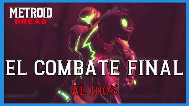 El combate final en Metroid Dread y cómo completarlo al 100%