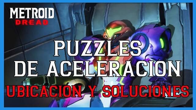 TODOS los puzzles de aceleración en Metroid Dread