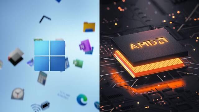 Windows 11 empeora su rendimiento con AMD Ryzen