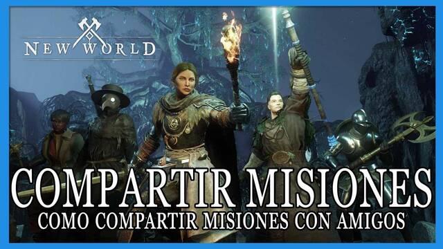 New World: ¿cómo compartir misiones con amigos? - condiciones