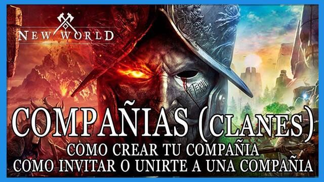 New World: cómo crear clanes y unirte o invitar a que alguien se una