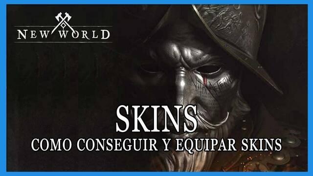 New World: cómo conseguir y equipar skins