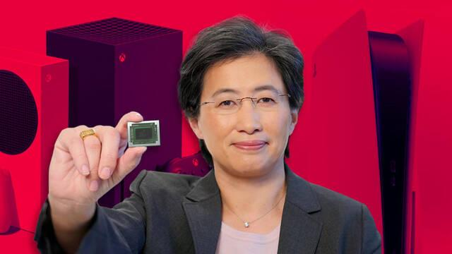 AMD cree que la escasez de chips se aliviará en la segunda mitad de 2022.