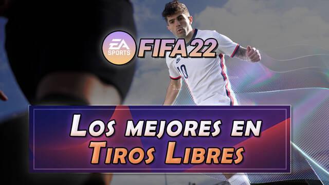 FIFA 22: Los 10 mejores jugadores en tiros libres - Medias y valoración