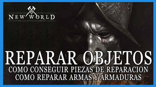 New World: cómo reparar armas y armaduras