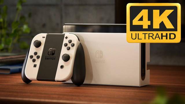 El 'dock' de Nintendo Switch OLED sería capaz de reproducir 4K a 60 fps