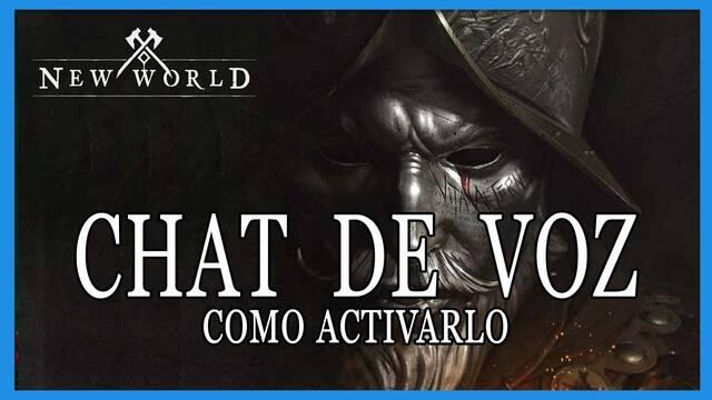 New World: cómo activar y usar el chat de voz